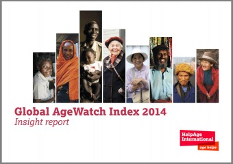 Global AgeWatch Index 2014 report cover