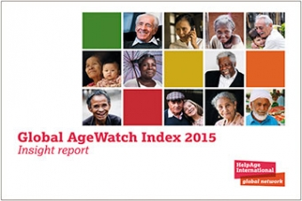 Global AgeWatch Index 2015 report cover