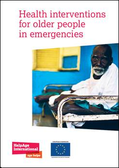 Health interventions for older people in emergencies