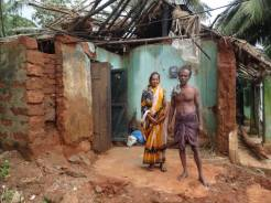 Ganesh and his wife in Daruthenga village, India