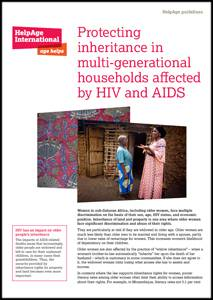 Protecting inheritance in multi-generational households affected by HIV and AIDS