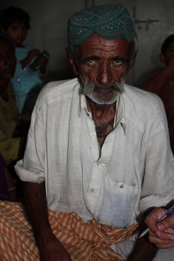 Jan Muhammad is now living in a camp after floods destroyed his home