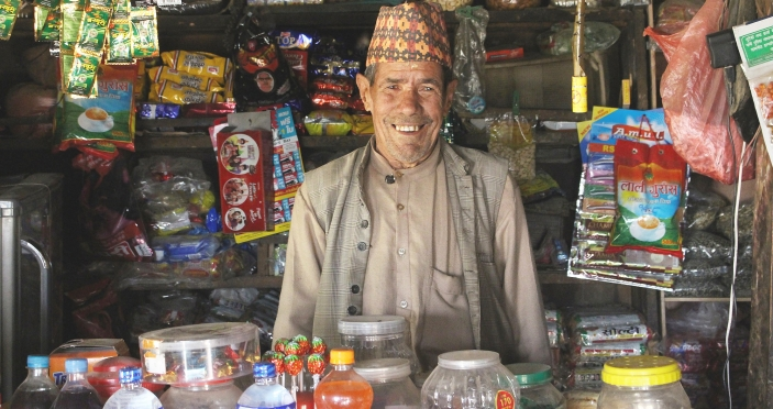 Kul used his cash transfer to boost his livelihood (c) Lydia Humphrey/Age International