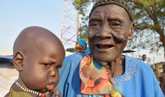 Mary, 85 from South Sudan