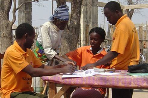 HelpAge has set up micro-credit schemes to support older vulnerable people in Mozambique.