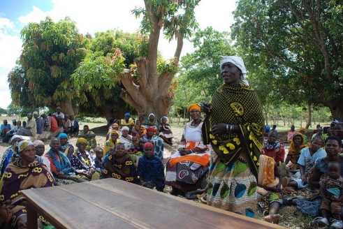 Hadija is now able to share her witchcraft allegation experience with her community in Sukumaland.