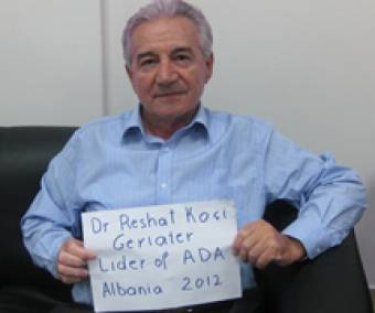 Reshat from Albania is a specialist in geriatry. (c) HelpAge International