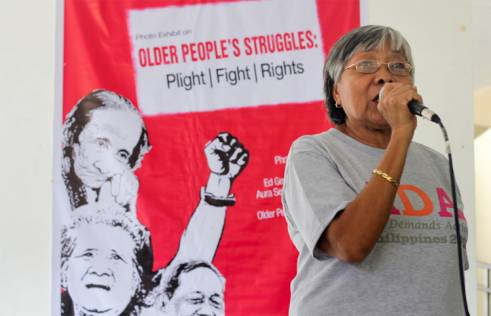 An older activist speaks about older people's rights in the Philippines.