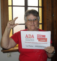 Sara, 72, Argentina. (c) HelpAge International