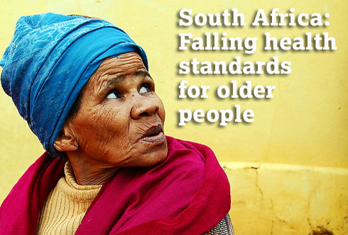 South Africa: Falling health standards for older people. (c) Maureen Sill/Flickr.