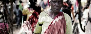 An older woman in South Sudan (c) Christian Als/Dansk Flygtningehjlp