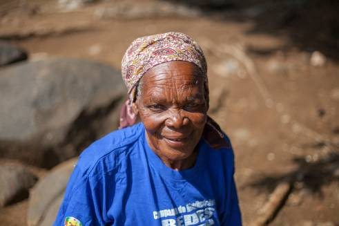 72-year-old Susana from Mozambique is both a traditional birth attendant and HIV counsellor in her community.