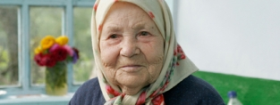 Tecla, from Moldova, was part of a HelpAge project to re-integrate vulnerable older people into society.