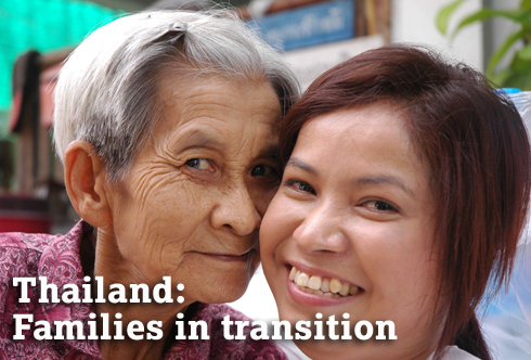 Thailand: Families in transition. (c) FOPDEV.