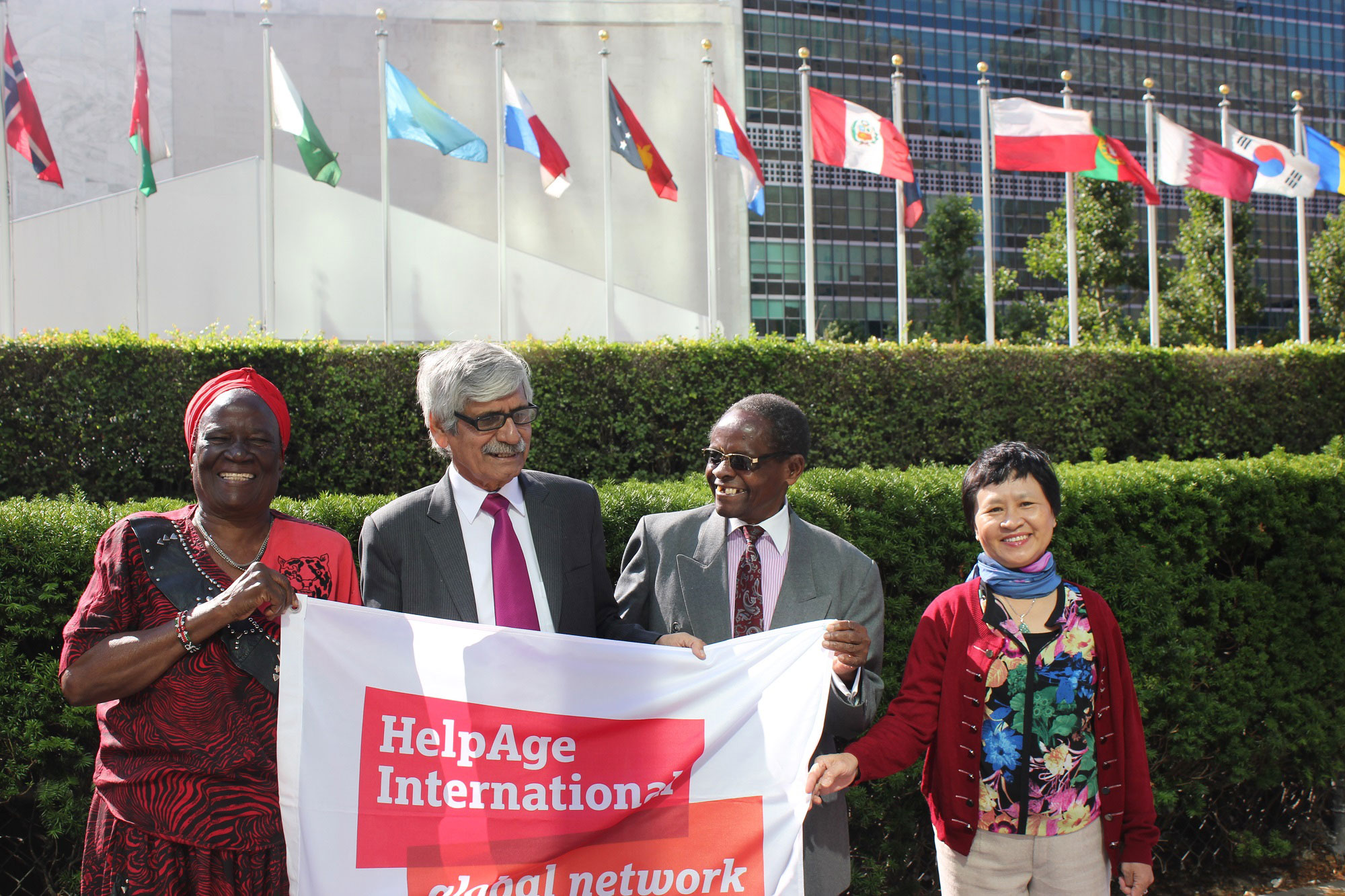 Older people attending the Open-ended working group on ageing in 2015 (c) HelpAge International