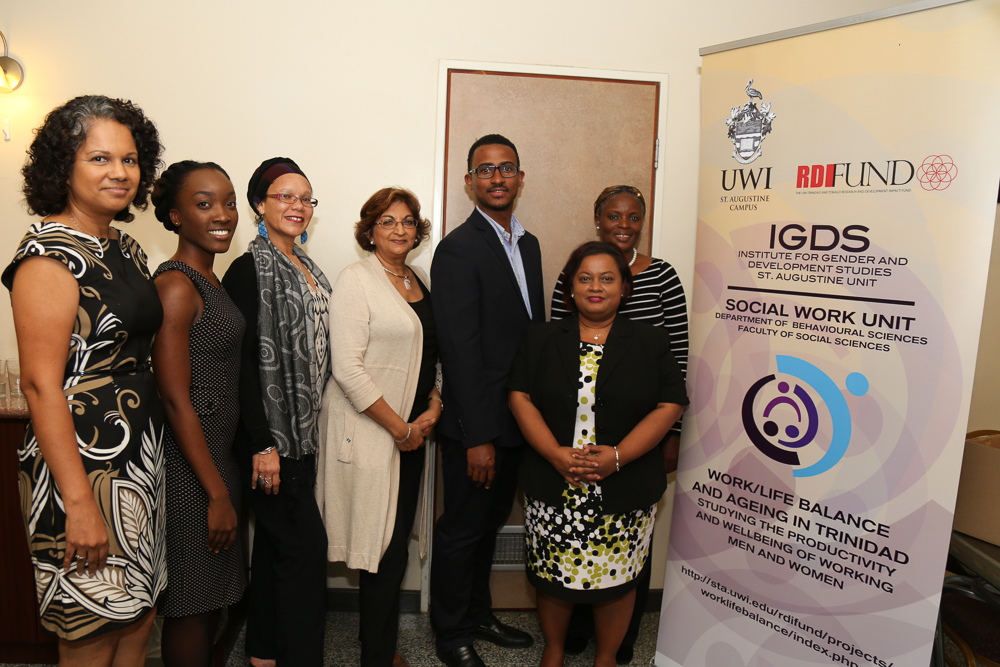 University of the West Indies' is embarking on a three-year project titled Work/Life Balance and Ageing in Trinidad: Studying the Productivity and Wellbeing of Working Men and Women