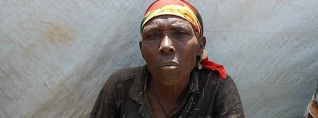 Miguro is a 66-year-old refugee from Burundi