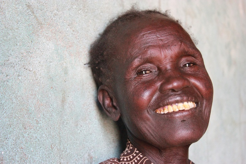 Your donation will help people like Engolete across the world (c) Joanne Hill/HelpAge International
