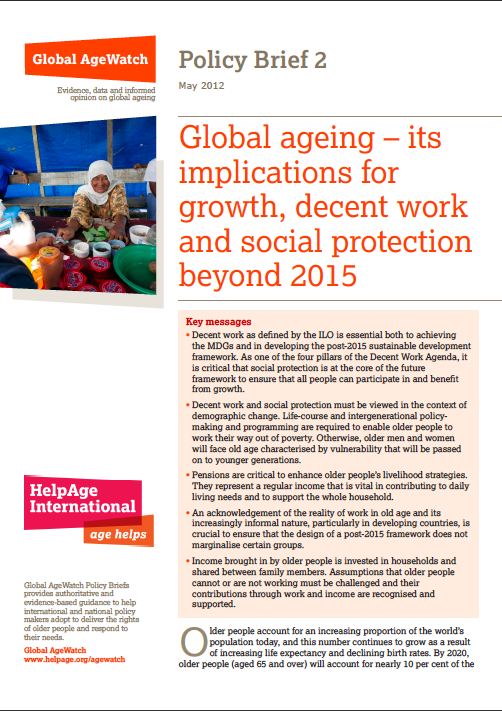 Global AgeWatch Policy Briefing 2
