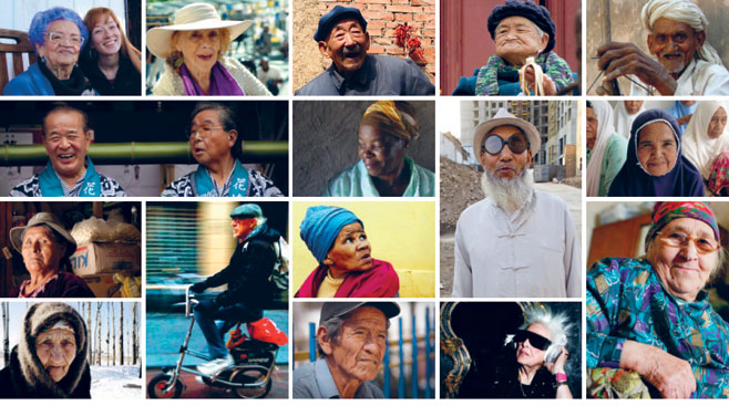 Global AgeWatchIndex: Mosiac of older people around the world.