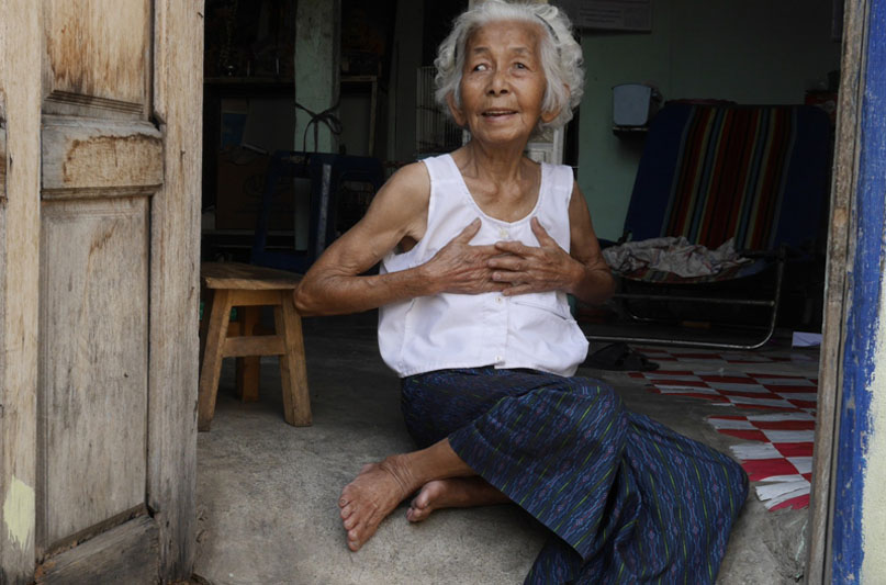 Buaphan Fongfu, 78, Chiang Mai, Thailand. (c) Ryan Libre/HelpAge International.