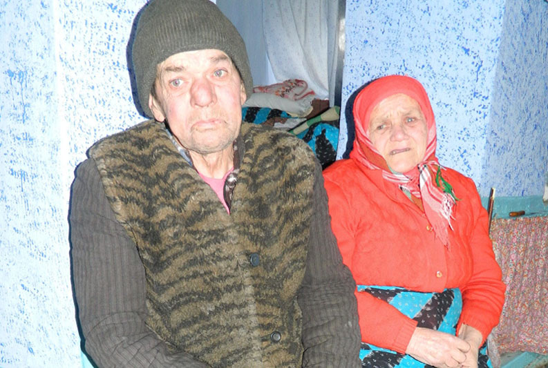 Gîrlea Maria, 70, Moldova. (c) HelpAge International.