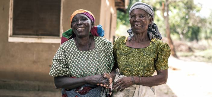 Women in the community have been empowered by what they have learned (c) Clemence Eliah/HelpAge International