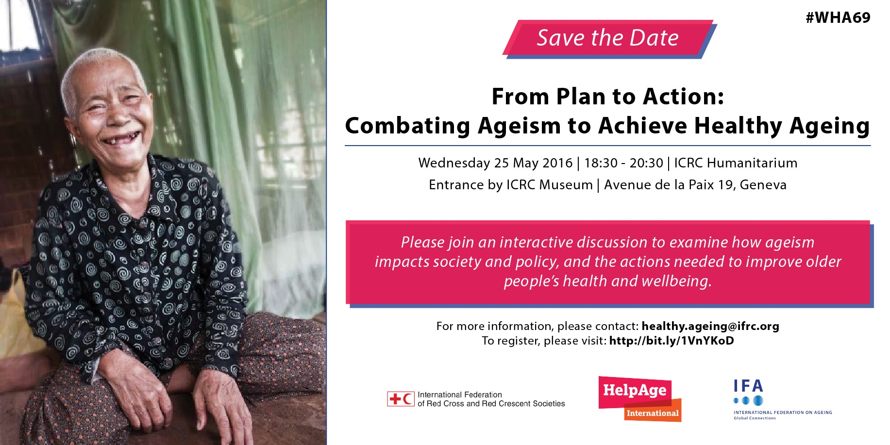 HelpAge International's World Health Assembly side event on ageism