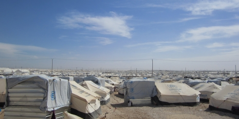 Zaatari refugee camp in Jordan for Syrian refugees (c) Amandine Allaire/HelpAge International