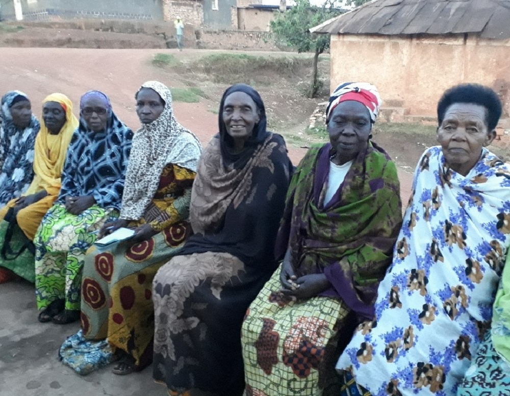 Zainabu Mukarulinda, Rwanda, with older women